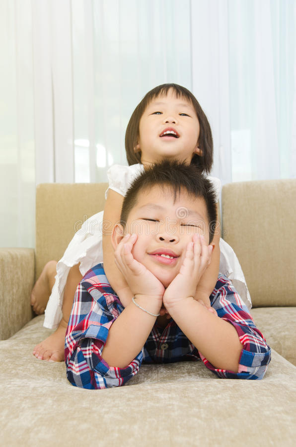 Asian kids stock images