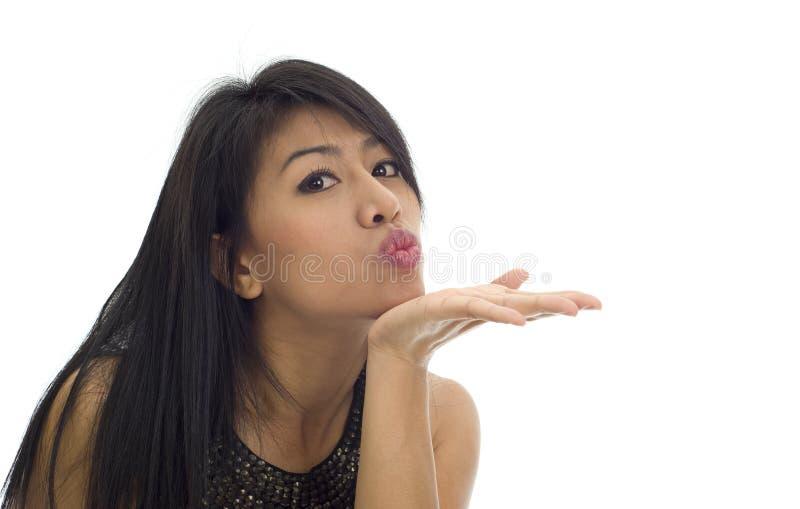 Asian Kiss Royalty Free Stock Image