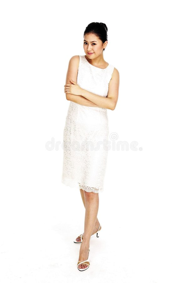 Asian Lady stock photos
