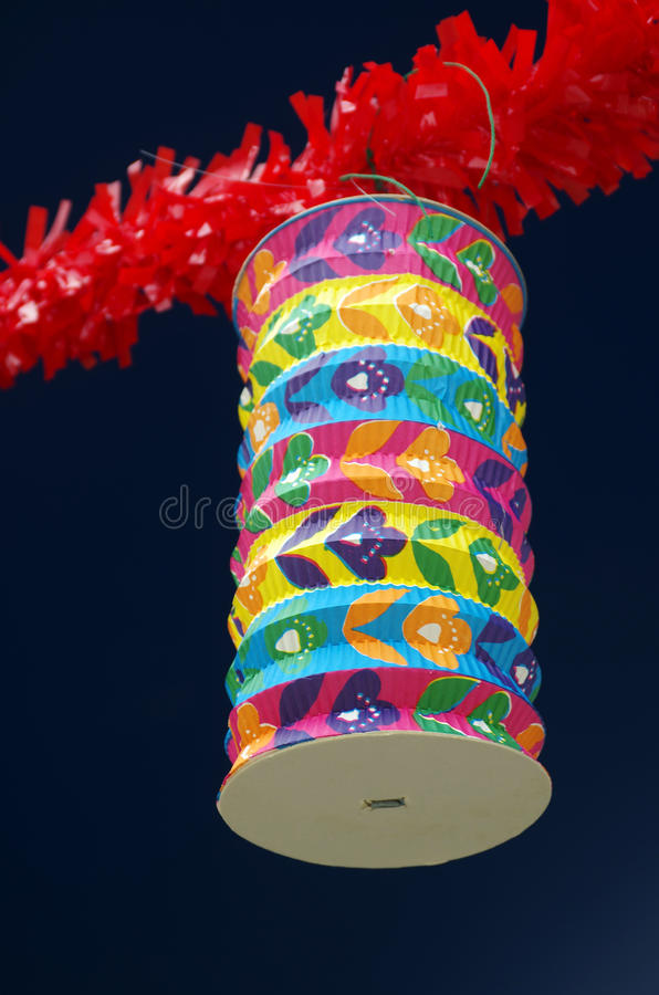Asian Lantern Stock Photography