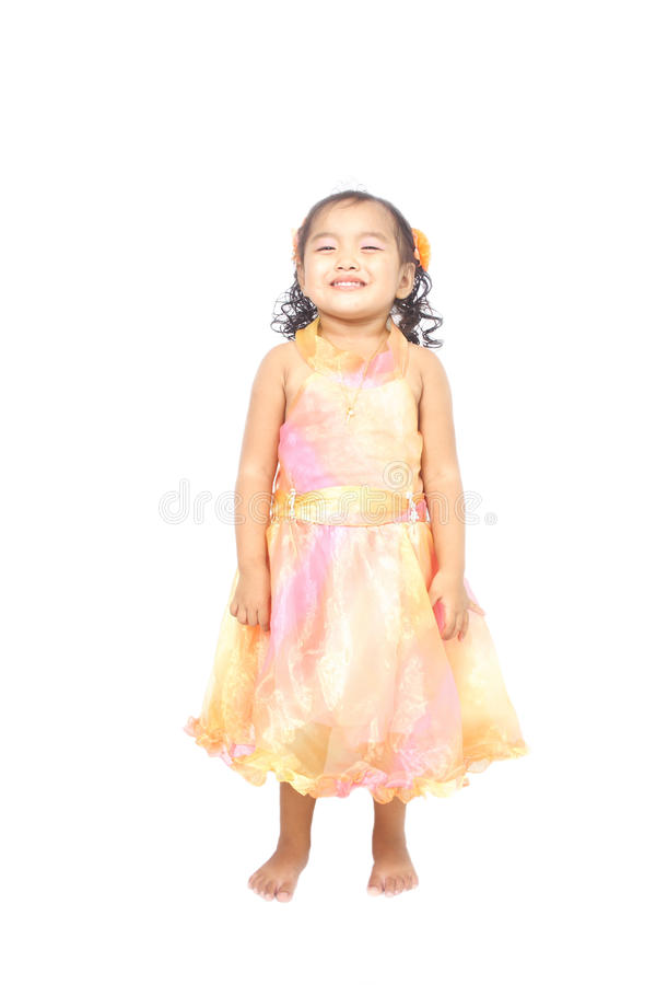 Download Asian Little Girl Posing In A Very Cute Smile Stock Image - Image: 24887381
