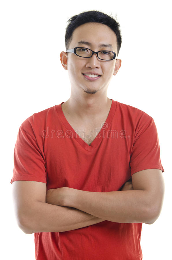 Asian male royalty free stock photo