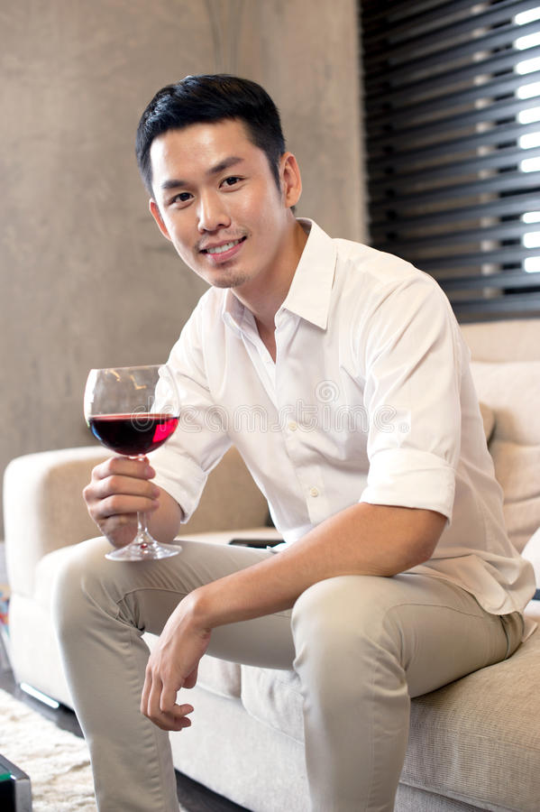 Asian Male Lifestyle stock image