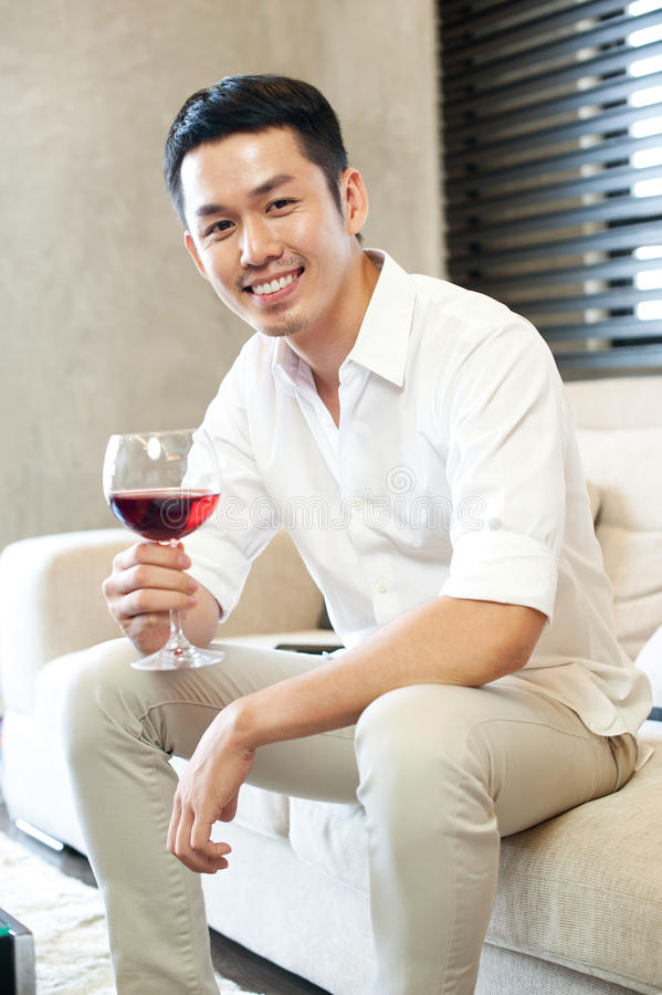 Asian Male Lifestyle stock photography