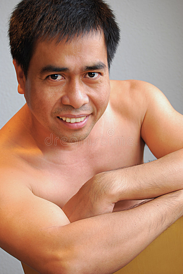 Download Asian male model stock photo. Image of model, asian, virile - 7343928