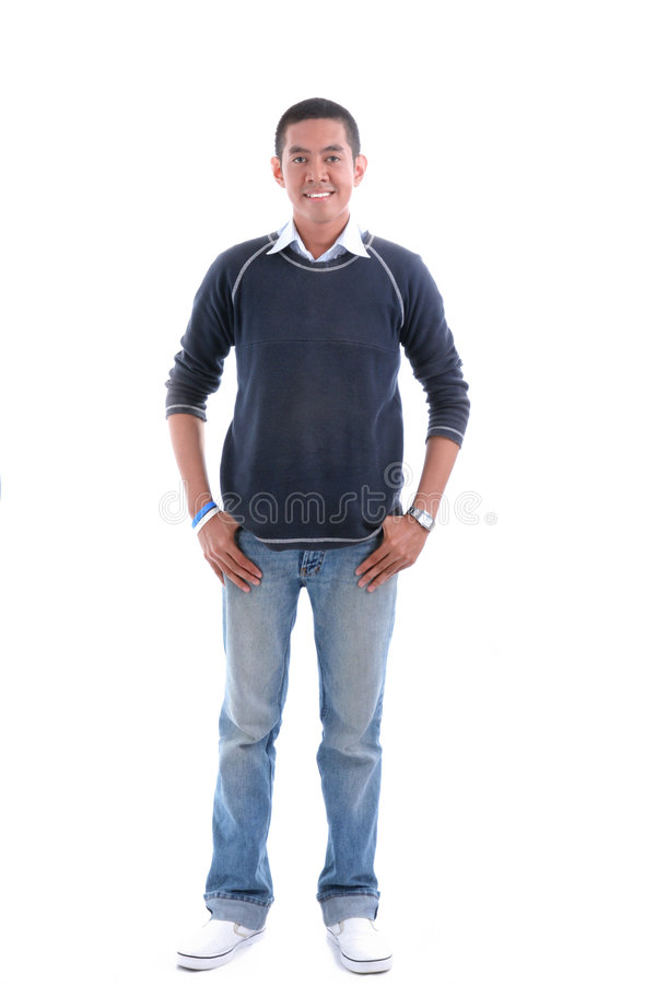 Download Asian man stock image. Image of nice, good, jean, male - 8513245