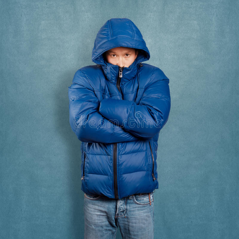Download Asian Man In Down Padded Coat Stock Image - Image: 36906261