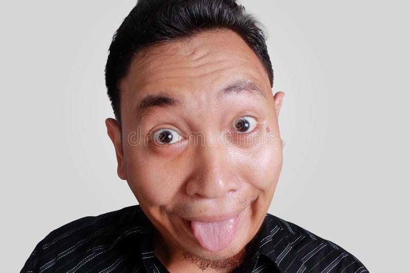 Asian face fun something also