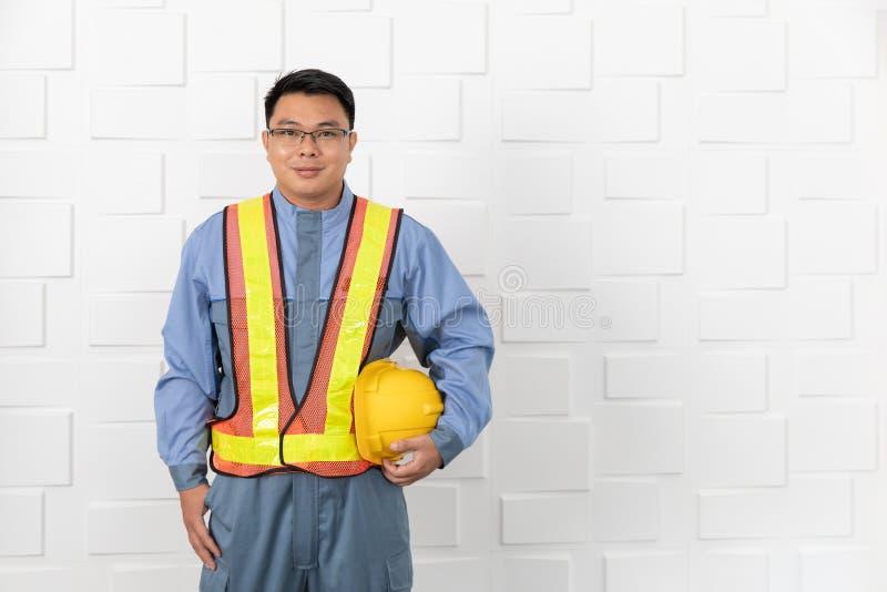 Asian man working royalty free stock image