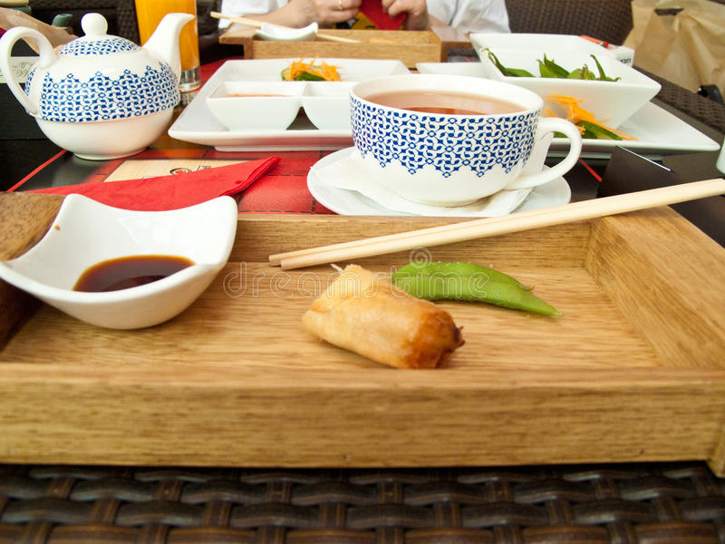 Download Asian meal stock image. Image of lunch, beans, dishes - 15022049