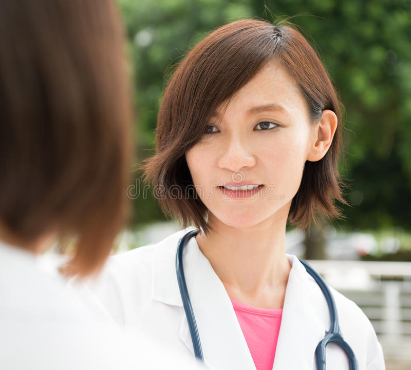 Asian medical people royalty free stock photo