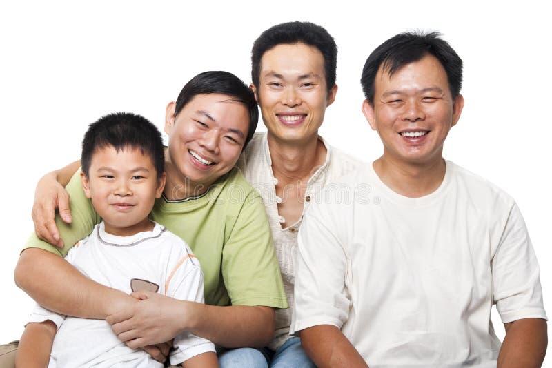 Asian men stock image