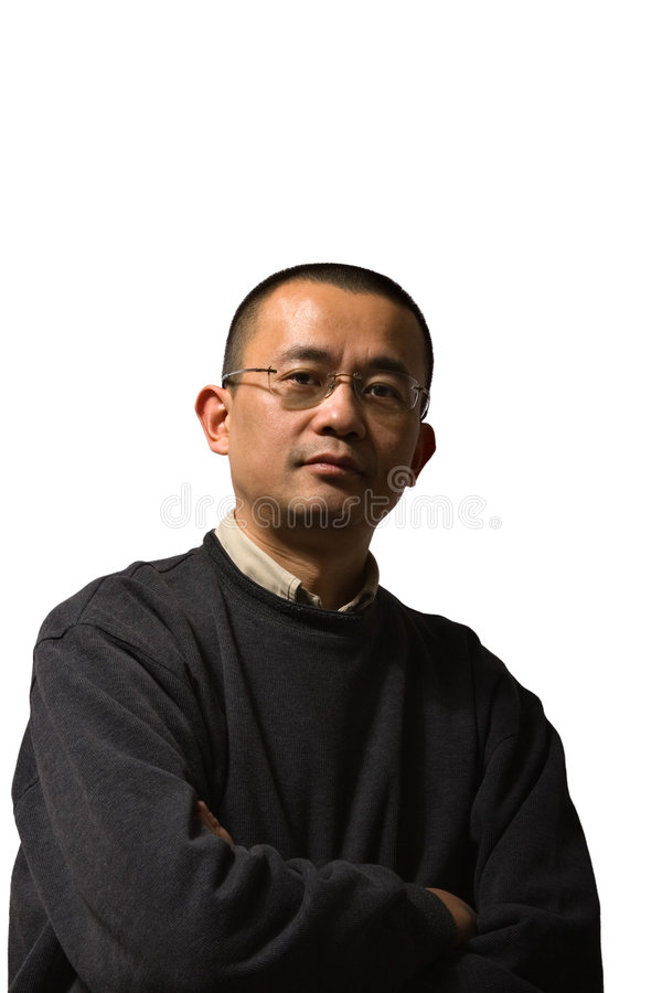 Asian Mid-adult Man Royalty Free Stock Photo