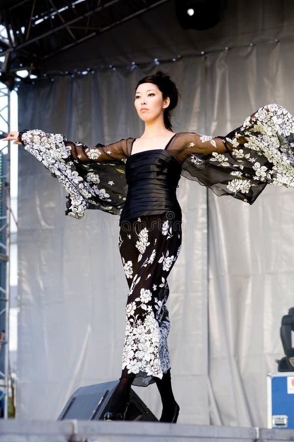 Asian model royalty free stock image