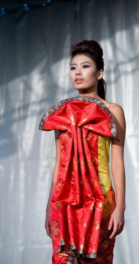 Asian model stock image