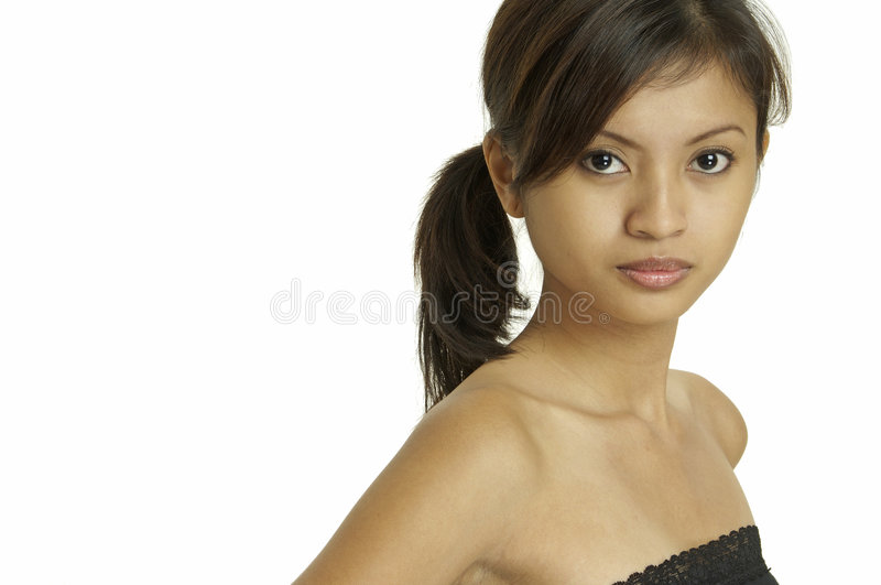 Asian Model 12 royalty free stock images