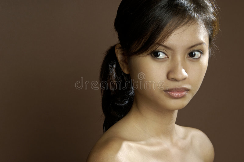 Asian Model 5 royalty free stock photography