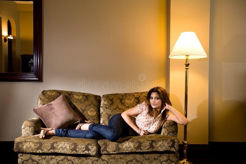 Download Asian modern malay woman stock photo. Image of seductive - 7655712