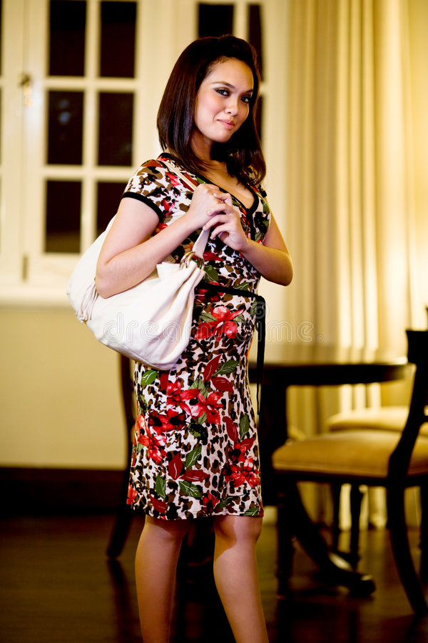 Download Asian Modern Malay Woman Royalty Free Stock Images - Image: 7659259