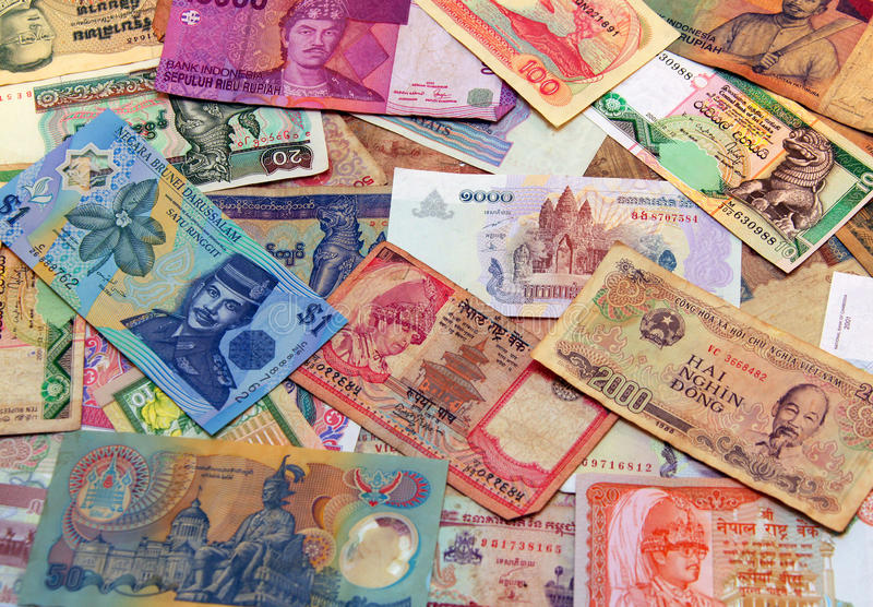 Download Asian money stock photo. Image of banking, riel, rupee - 17778448