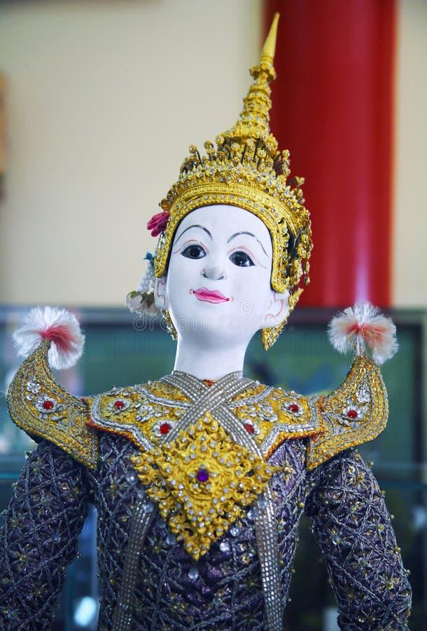 Asian national puppet royalty free stock photos