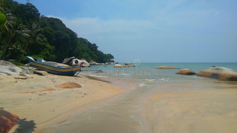 Asian natural beach royalty free stock photos