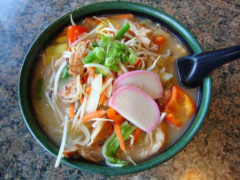Asian Noodle Soup stock photography