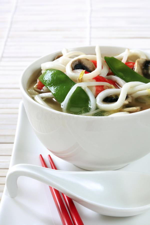 Download Asian Noodle Soup stock image. Image of asian, cuisine - 22964249