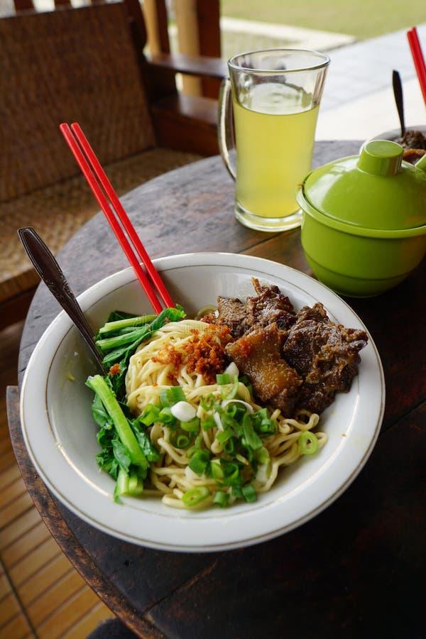 Asian Noodles. Javanese noodles. stock photo
