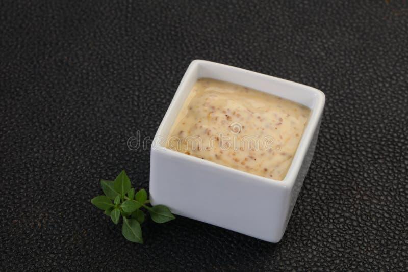 Asian Nut sauce stock images