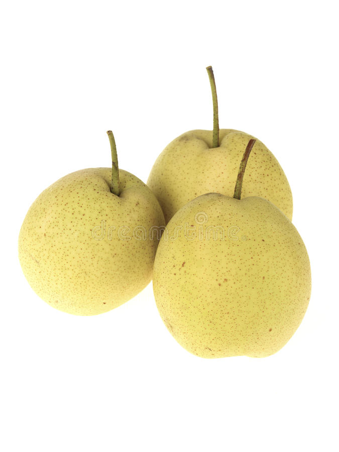 Download Asian Pears stock image. Image of healthy, isolated, ripe - 26162543