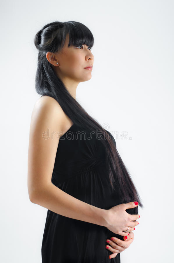 Download Asian Pregnant Stock Photo - Image: 18794420