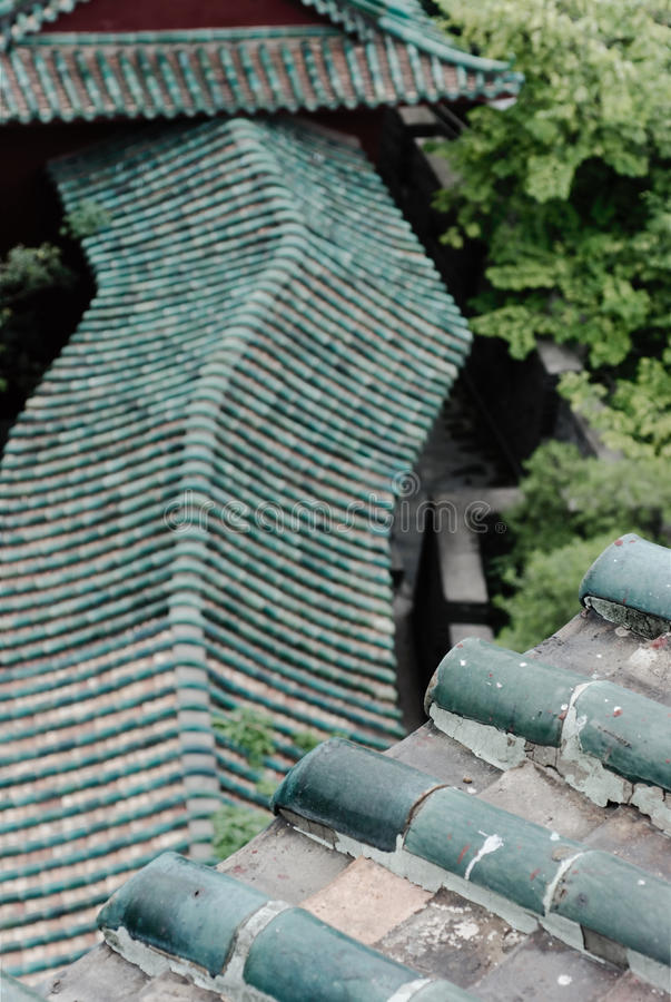Asian Roof Line royalty free stock image