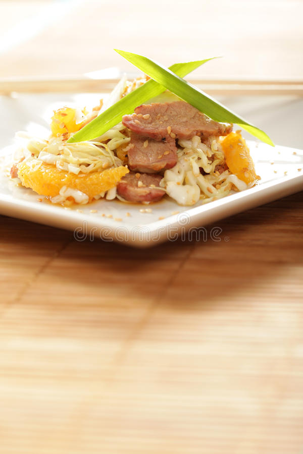 Download Asian Salad With Copy Space Stock Photo - Image: 12341678