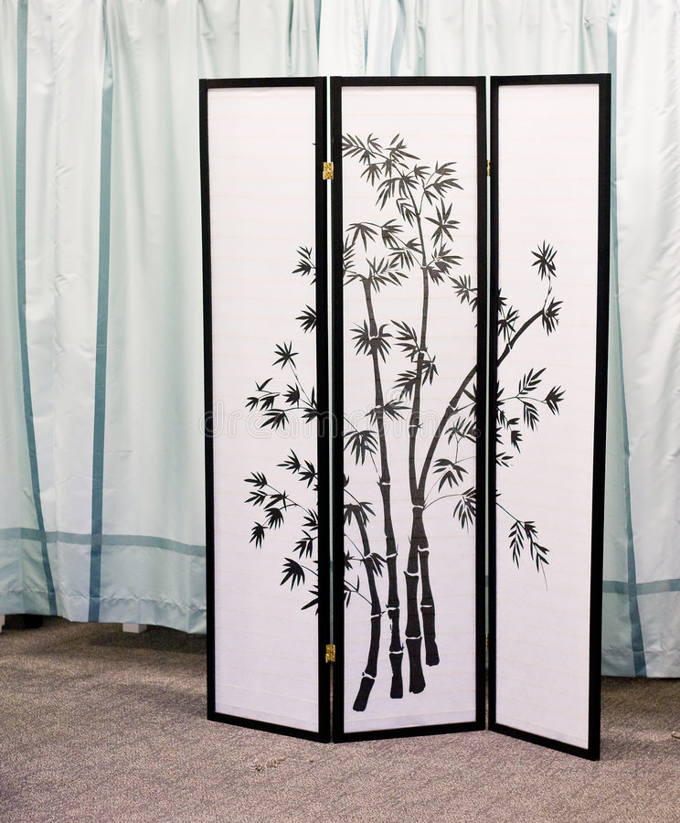 Download Asian Screen Stock Image. Image Of Screen, Curtain, Oriental    6752573