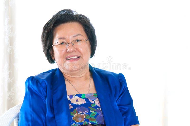 asian senior woman стоковые фото