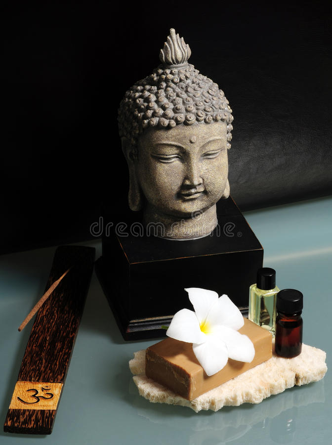 An Asian spa experience royalty free stock images