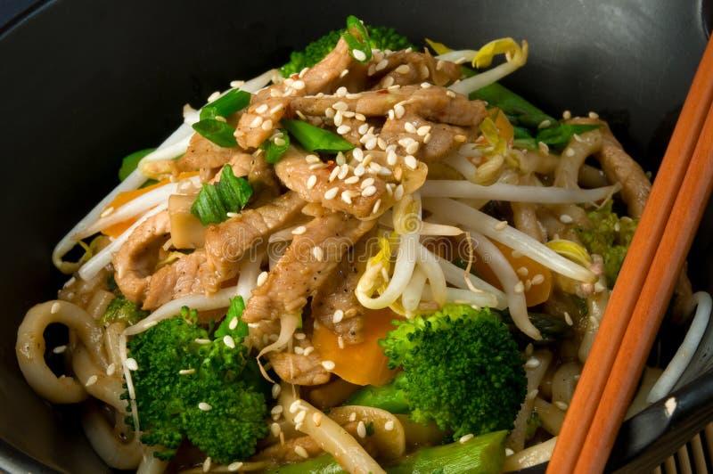 Asian Stir Fry stock image