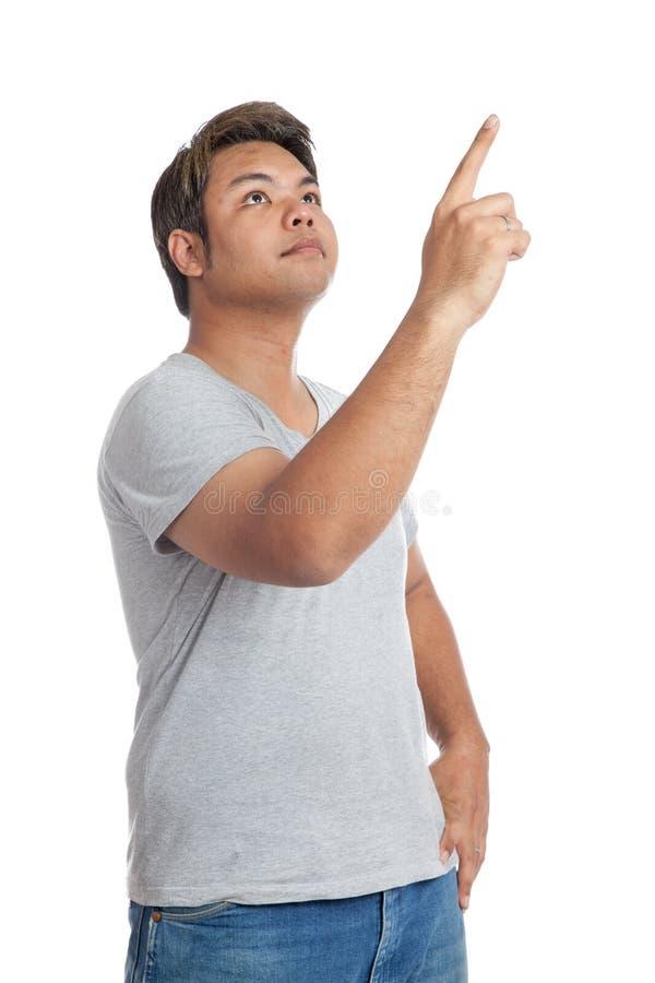 Strong asian man