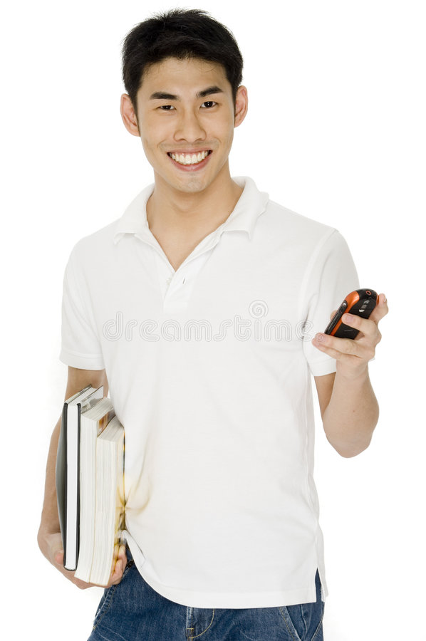 Download Asian Student stock photo. Image of asian, person, holding - 1718016