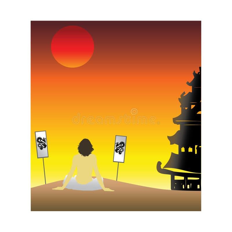 Download Asian Sunset Stock Photos - Image: 7125213