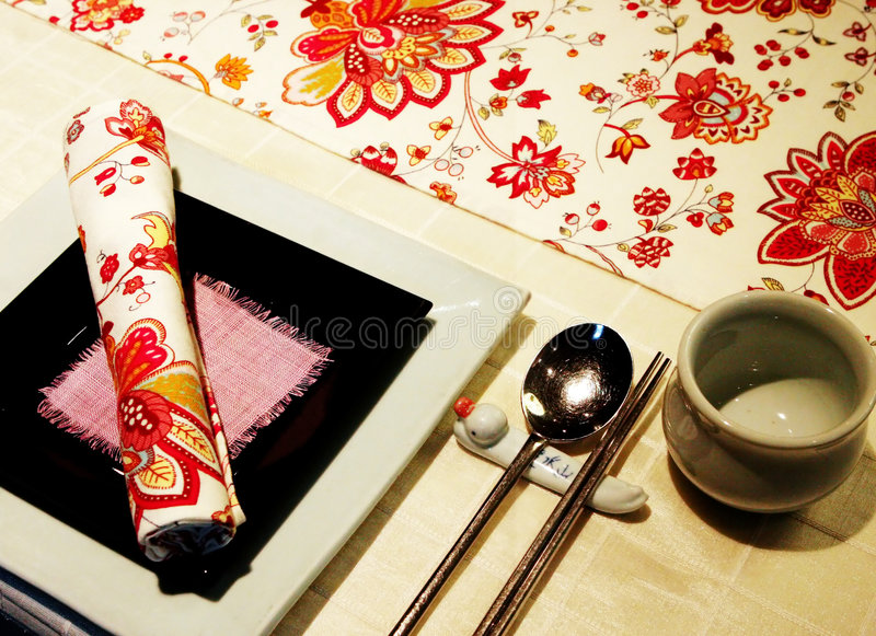 Download Asian table setting stock photo. Image of luxury utensil - 1033278 & Asian table setting stock photo. Image of luxury utensil - 1033278