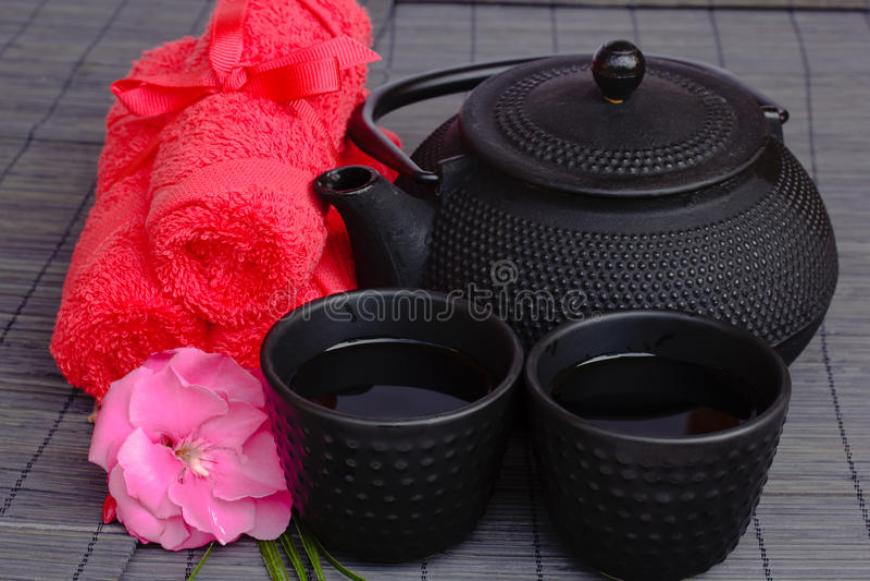 Download Asian Tea Set Stock Photo - Image: 26027110