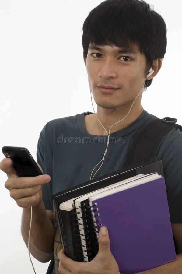 Asian teenager stock image