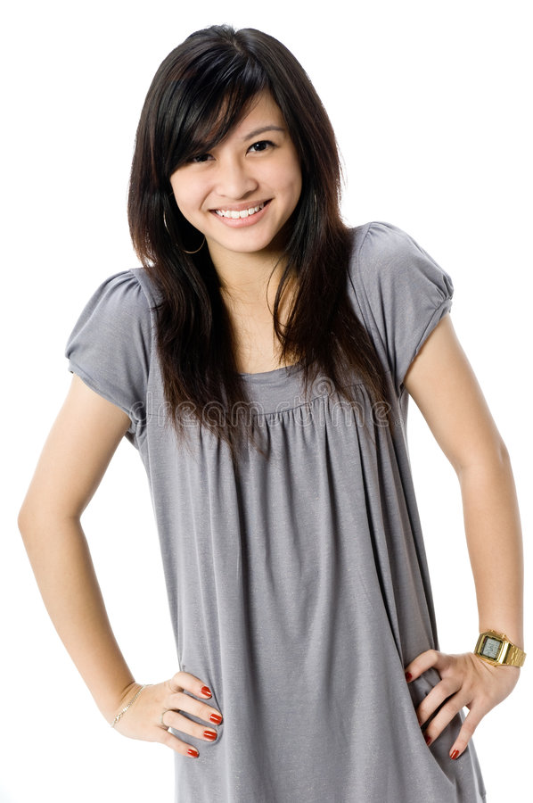 Download Asian Teenager stock image. Image of chinese, dress, young - 3884621