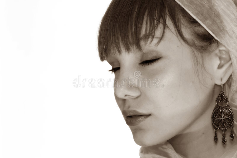 Asian Teenager Portrait Royalty Free Stock Photos