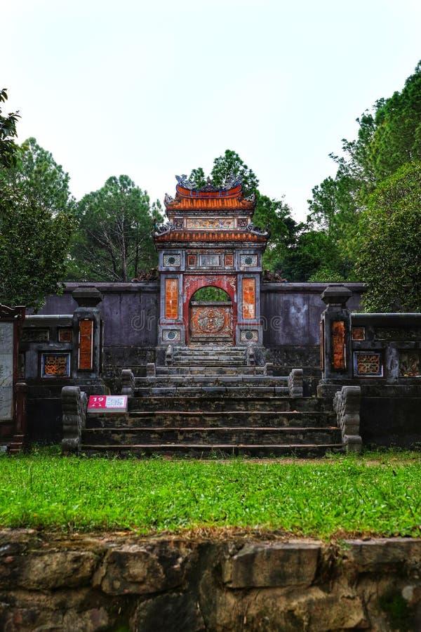 Asian temple garden royalty free stock photos