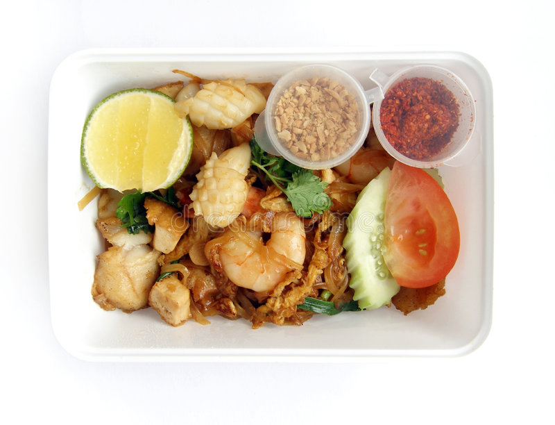 Download Asian Thai Ethnic Food Takeaway Stock Photo - Image: 5805366