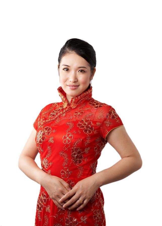 Asian traditional dress stock photo