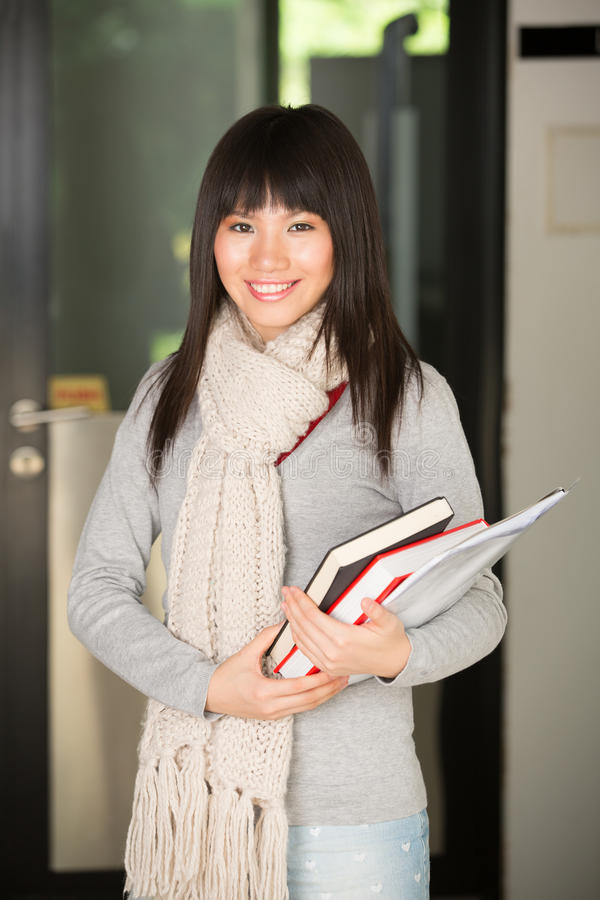 Asian University Student Stock Photography
